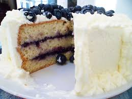 blueberry coconut tres leches layer cake recipe