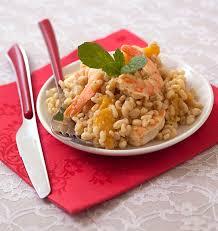 cuisiner la mangue salade de blé aux crevettes et à la mangue les meilleures recettes