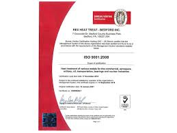 bureau veritas us accreditations rex heat treat