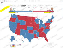 Election Map Results by Explained Nbc Local News Accidentally Posts Us Election