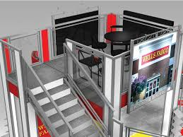photo booth rental las vegas two story trade show booth rental va2020