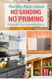 painting kitchen cabinets without sanding the best way to paint kitchen cabinets satin kitchens and house