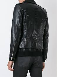 classic motorcycle jacket yves saint laurent italian shoes saint laurent classic motorcycle