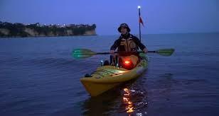 kayak lights for night paddling lighting up a kayak for dawn dusk and night paddling kayak advisors
