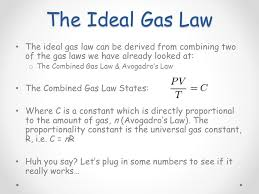 ideal gases now that we know how gases behave when we manipulate