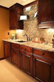 Kitchen Ideas With Cherry Cabinets Best 25 Kitchens With Dark Cabinets Ideas On Pinterest Dark