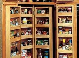 portable brown black corner kitchen pantry cabinet for grey wall