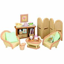Sylvanian Families Conservatory Living Room Set Amazoncouk - Sylvanian families living room set