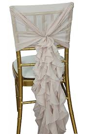 ruffled chair covers chair hire chair covers sashes reanne