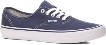 sweet vans authentic pro skate shoes 50th 74 navy white 4025