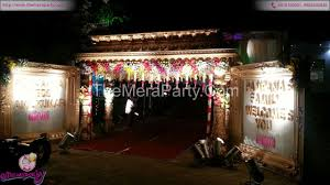 wedding decoration services hyderabad the mera party