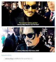 Johnny Depp Meme - did she just call johnny depp shit by star meme center