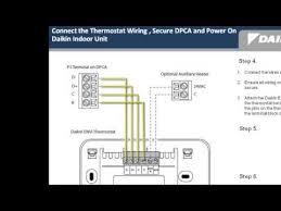 daikin envi installation 2 wiring youtube