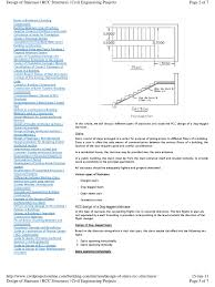 design of staircase pdf stairs beam structure