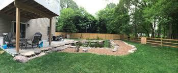 Backyard Idea A Backyard Idea Set In Severn Md Premier Ponds Dc Md Va