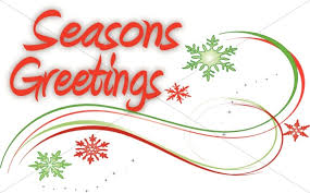 snowflake swirls and seasons greetings christian word