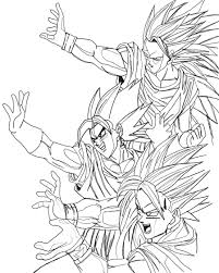 dragon ball z coloring pages free printable dragon ball z coloring