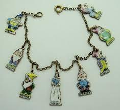 white charm bracelet images 75 best vintage charms theme parks disney images jpg
