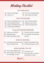 wedding planner license wedding planning checklist for a stress free day tropicana lv