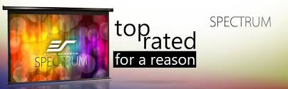 projection screens amazon com amazon com elite screens spectrum 100 inch diag 16 9 electric