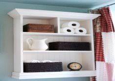 amazing bathroom shelf ideas diy floating shelves and bathroom