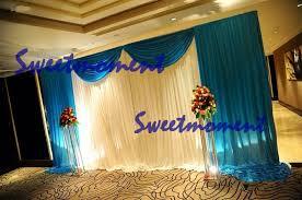 Wedding Backdrop Curtains For Sale Aliexpress Com Buy A Set Wedding Drape U0026 Pipe For Wedding