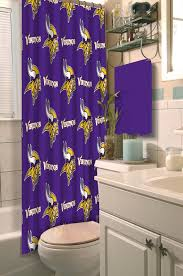 Nfl Shower Curtains Northwest Co Nfl Shower Curtain Reviews Wayfair