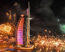 Arab Hd by Dubai Burj Al Arab Hotels New Years Eve Celebration Fireworks Hd