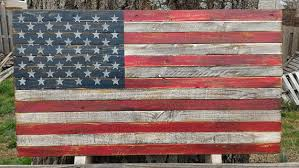 American Flag Home Decor American Flag Pallet Flag Rustic Flag Home Decor Wall
