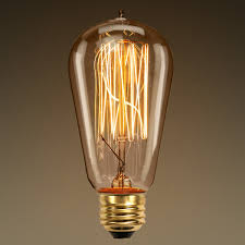 60 watt edison bulb 5 13 in length vintage light bulb