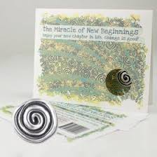 new beginnings greeting card collection pocket miracle of new beginnings greeting card karmic inspirations
