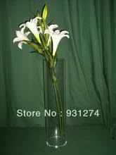 Lucite Vases Compare Prices On Cylinder Plastic Vases Online Shopping Buy Low