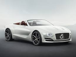 first bentley ever made bentley unveils its first electric luxury vehicle business insider