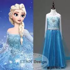 desain baju gaun anak lynn design baju dress kostum princess frozen elsa anak lazada