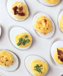 deviled eggs four ways recipe real simple