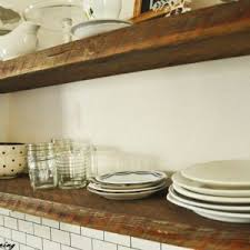 Rustic Kitchen Shelving Ideas by Open Kitchen Shelves Rustic Shelving Feafa Tikspor