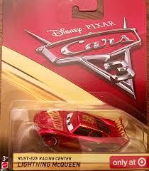 Disney Cars Bathroom Set Target by Amazon Com Disney Pixar Cars 3 Rust Eze Racing Center Lightning