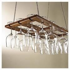 Wine Glass Holder Under Cabinet Best 25 Hanging Wine Glass Rack Ideas On Pinterest Wood Wine