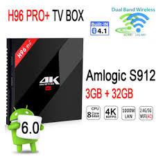 android dlna h96 pro plus android 7 1 tv box s912 4k2k kodi 17 0 wifi dlna