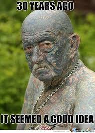 Old Man Tattoo Meme - grandpa with tattoo by serkan meme center