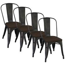 Dining Chair Deals Modus Gunmetal Side Chair Set Of 4 Overstock Shopping Great