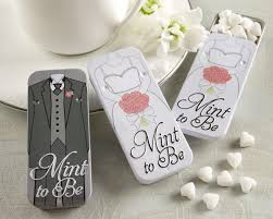 mint to be wedding favors mint to be mint tins and groom available