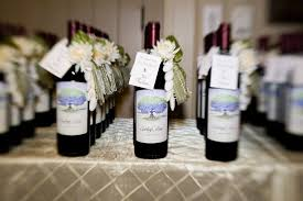 wine bottle favors wine weddings ceremonies favors gardner winemaking