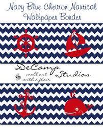 nautical sailboat nursery wallpaper border boy wall decal stickers