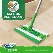 Swiffer Wetjet On Laminate Floors Swiffer With Gain Scent Sweeper Wet Mopping Cloths 24 Ct Plastic