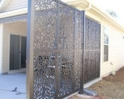 outdoor lattice designs outdoor privacy screen