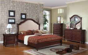 bedroom broyhill attic heirloom feather bed with wall clock and