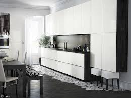 cuisine noir et blanche credence york noir et blanc simple trendy design credence