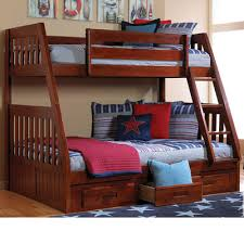 cambridge stanford twin over full bunk bed with storage wayfair
