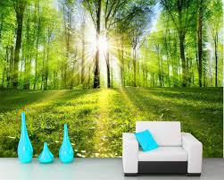 Wall Mural Shining Through The Online Buy Wholesale 3d Nature Wallpapers From China 3d Nature